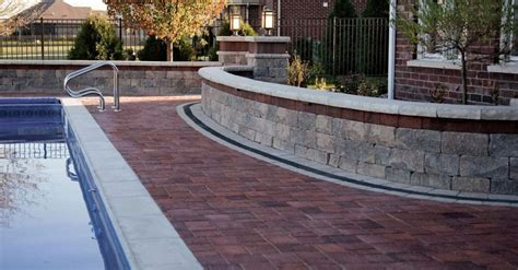 Unilock Retaining Wall Block Prices 6 Best Wall Units For Creative And Meandering Lines