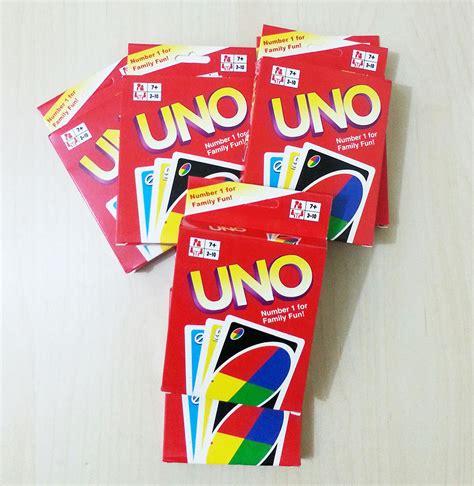 Mainan Anak Hobi Kartu Uno Minions Uno Card Dijamin jual mainan kartu uno klasik uno card classic hipoo toys bsd