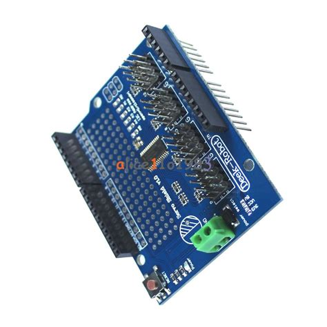 16 Channel 12 Bit Pwm Servo Shield I2c Interface 16 channel 12 bit pwm servo drive shield board i2c pca9685 for arduino