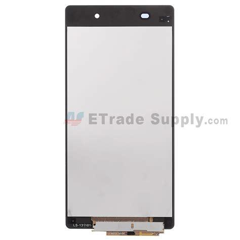 Xperia Z2 Spare Part sony xperia z2 lcd digitizer assembly black etrade supply