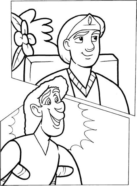 mephibosheth coloring page coloring pages