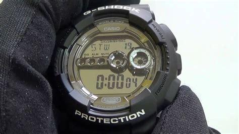 Casio G Shock Gd 100bw 1 casio g shock gd 100bw 1er