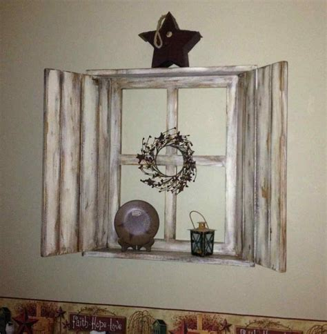 retired home interior mirrored window pane shutters wall hanging gorgeous vintage window and mirror gorgeous rustic shutter