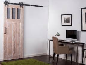 Interior Sliding Barn Doors For Homes Barn Door Hardware For Glass Door Contemporar Vanityset Info