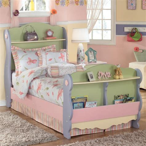ashley furniture girl beds doll house twin sleigh bed by signature design by ashley