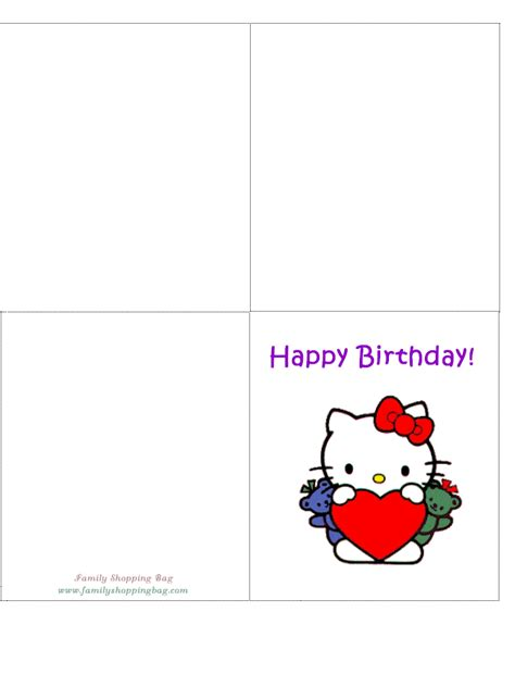 hello kitty birthday card 936638 png