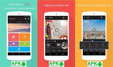 android maker apk videoshow editor maker apk 5 1 0 android mobil uygulamalar 187 indirilenler