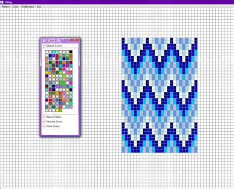 pattern grid program bead patterns loom patterns mosaic patterns geometric