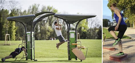 multisports areas outdoor fitness equipment exercice