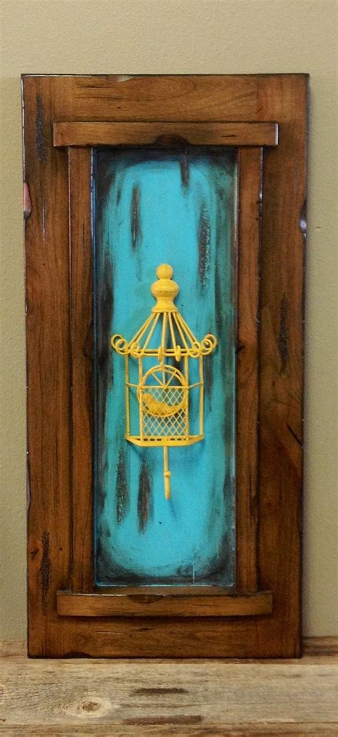 decorative cabinet door wall hanging solid wood by
