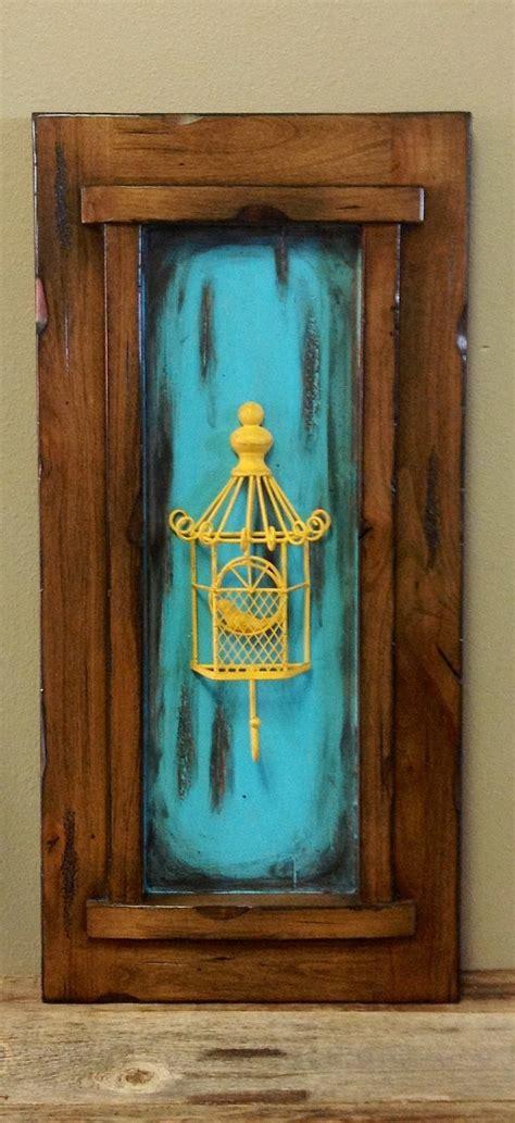 Hanging Cabinet Doors Decorative Cabinet Door Wall Hanging Solid Wood By Lilymichelles 35 00 Diy Wood Crafts