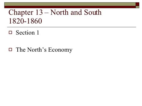 chapter 26 section 2 the new global economy chapter 13 slide show north and south