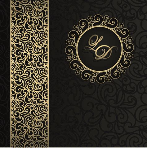 pattern vector background free download luxurious damask patterns background 01 vector
