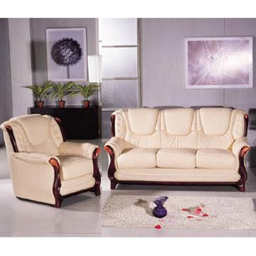 Leather Sofas With Wood Trim Leather Sofa Wood Trim Leather Wood Sofa Ebay Thesofa