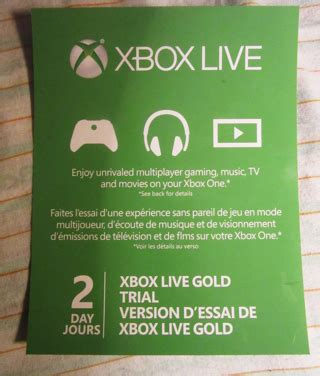 Xbox 2 Day Trial Code Giveaway - xbox one free 2 day 28 images free xbox live gold 14 days trial code prepaid cards
