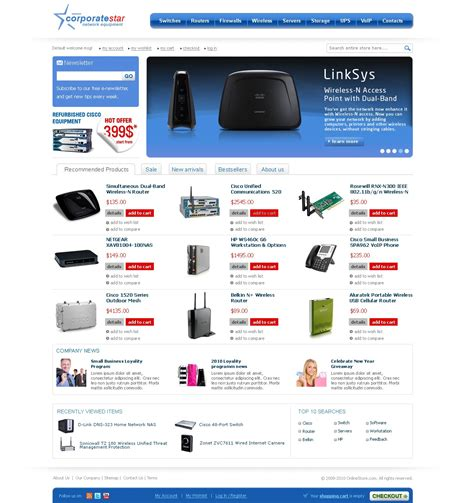 corporate star premium magento theme templates master