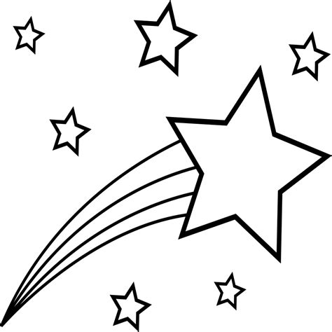 imagenes para colorear estrellas dibujos para colorear de estrellas fugaces alusivas a la