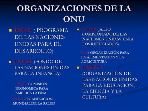 organizacin de las naciones unidas para la agricultura y 86 organizacin de las naciones unidas para la fao