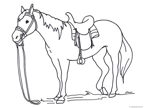 Coloring Of Horses by Coloring Page 187 Coloring Pages