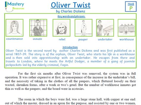 biography charles dickens ks2 oliver twist by charles dickens comprehension ks2 by