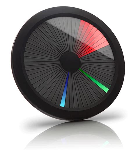 Gaming Home Decor chromatic led color spectrum clock thinkgeek