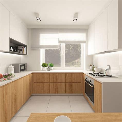maderas para cocinas 30 ideas de cocinas en blanco y madera i cocinas con
