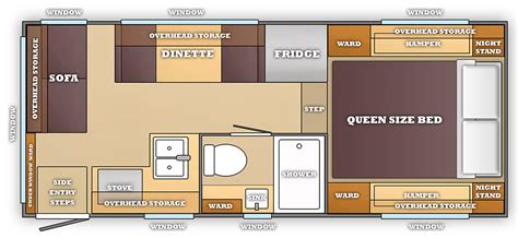 Room Floor Plan Free a dream camper floor plan truck camper magazine