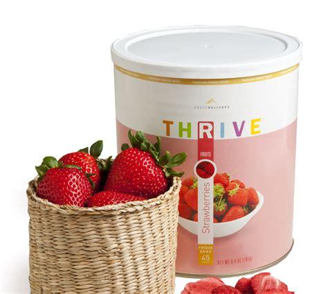 Thrive Shelf Reliance by Shelf Reliance Thrive Food