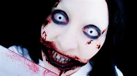 jeff the killer makeup tutorial jeff the killer makeup fx youtube