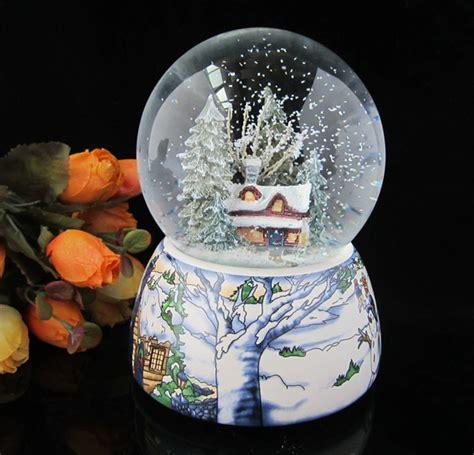Bola Snowball Musik Box box with snowflake