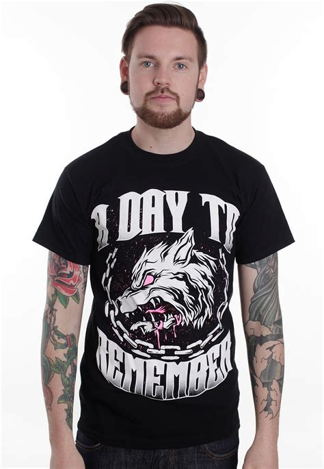 A To Remember a day to remember big wolf t shirt official pop