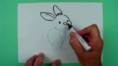 Wie Malt Einen Hasen by Wie Malt Einen Hoppelnden Hasen Zeichnen F 252 R Kinder