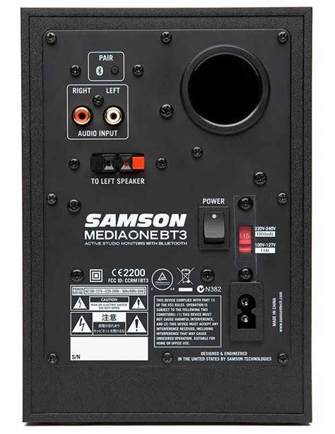 Speaker Bluetooth Di Bandung jual jual samson mediaone bt3 studio monitors with