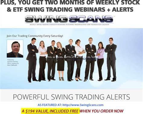 swing trading education steve nison ken calhoun stock trading success