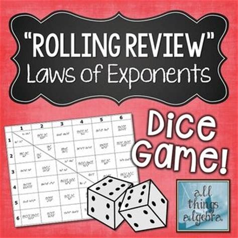 printable exponent games 1000 images about rules of exponents on pinterest