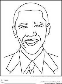 black history coloring pages obama education black