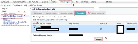 Letter Cancelling Recurring Deposit How To Or Cancel Rd Recurring Deposit Through Sbi Banking Finance