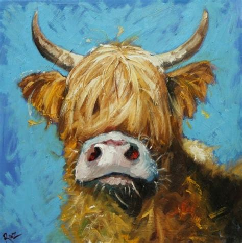 scow paintings obsession cow paintings or moodern art courtney scrabeck