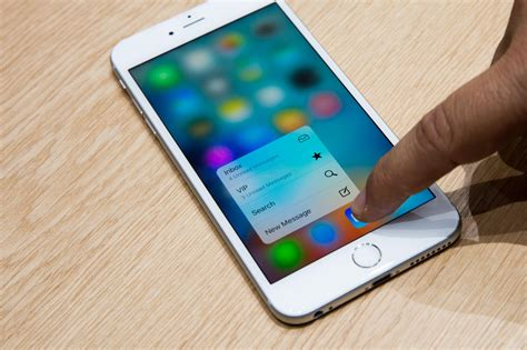 apple iphone 6s grundlegende 3d touch aktionen erkl 228 rt cnet de