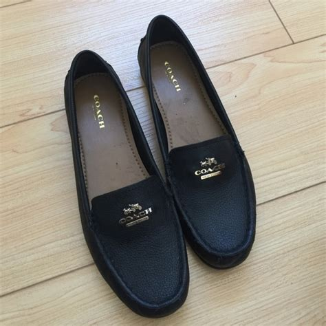 black coach loafers coach black loafers 28 images coach fredrica womens
