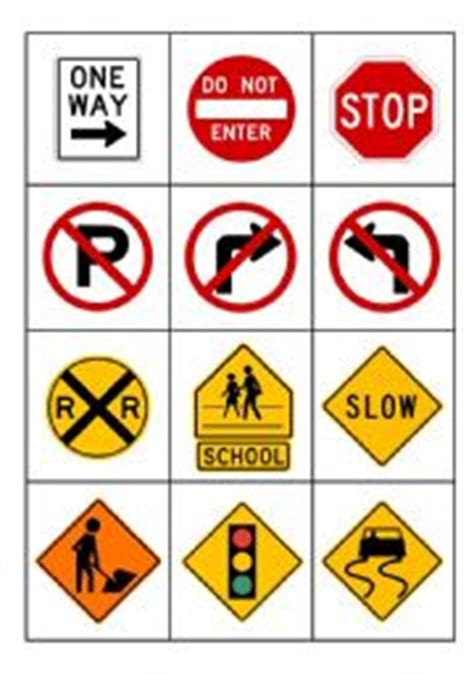 printable road signs australia english teaching worksheets road signs