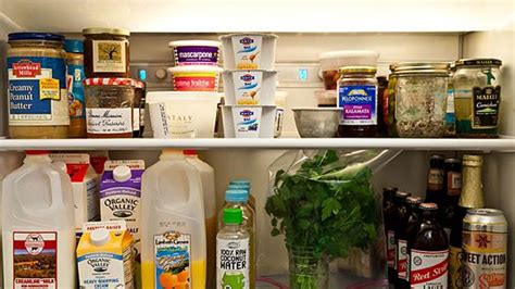 Best Shelf Food by Store Dairy On The Top Shelf Of The Fridge And Other