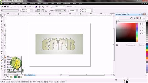 pattern fill coreldraw x6 tutorial coreldraw x6 letra 3d youtube