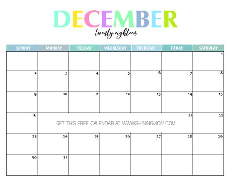 2018 monthly printable calendar let s do this true collection 2018 printable monthly calendar photos daily