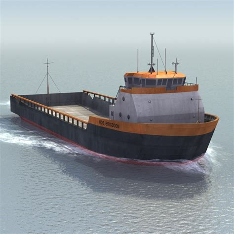 platform supply vessel platform supply vessel 3d model