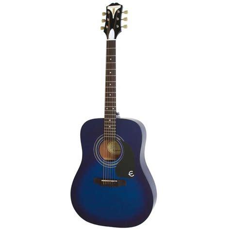 Gitar Akustik Elektrik Epipone Pro 1 Original 1 epiphone pro 1 akustik gitar trans blue doremusic