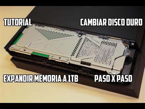 tutorial cambiar nat ps4 tutorial como cambiar el disco duro del ps4 500 gb a 1