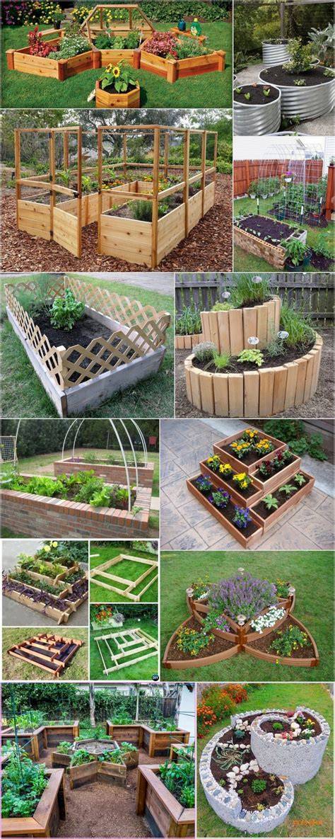 Raised Garden Bed Ideas Cheap Inexpensive Raised Garden Bed Ideas To Increase The Value Of Your Outdoor Space Recycled Things