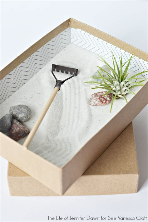 make your own zen garden craft mini zen garden for father s day see vanessa craft