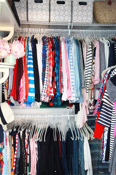 Closet Pb by Closet Makeover With Lemon Stripes Pbteen